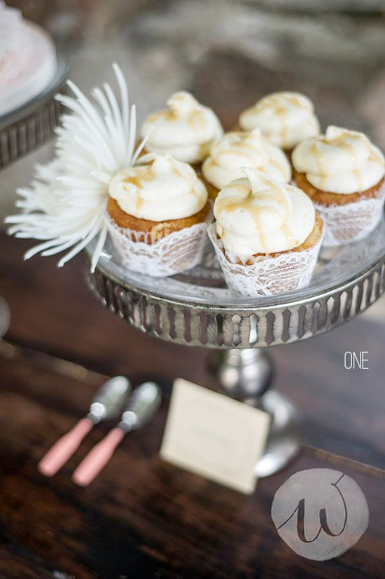 Lace Cupcake Wedding Wrappers
