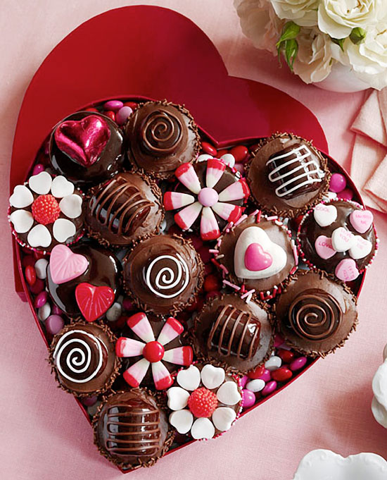 Valentine's Day Cupcakes for your Sweetheart