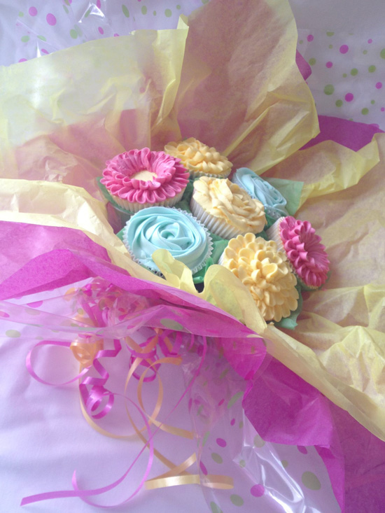 Cupcake Bouquet Creations