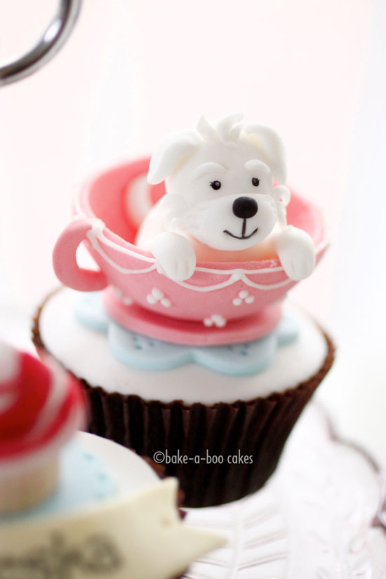 Cute Doggy Cupcake