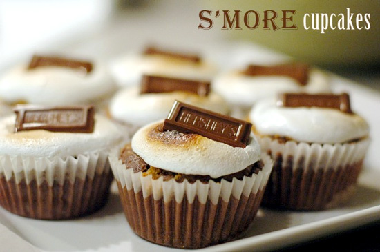 Delicious S'more Cupcakes Recipe