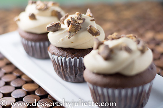 Reese's Peanut Butter Cupcakes Recipe
