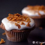 Sweet Potato Chip Cupcakes, Marshmallow Frosting, cupcake recipes, blog, daily, cupcakedailyblog, baking