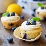 Thumbnail image for Blueberry Lemon Cupcakes