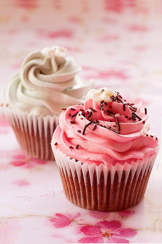 Pink Vanilla Icing