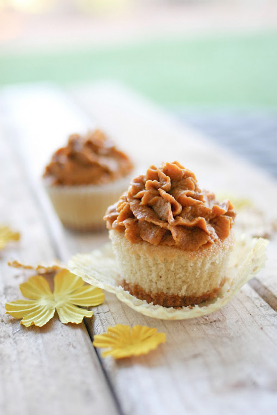 Pumpkin Pie Cupcakes, baking, cupcakes, recipe, blog, daily