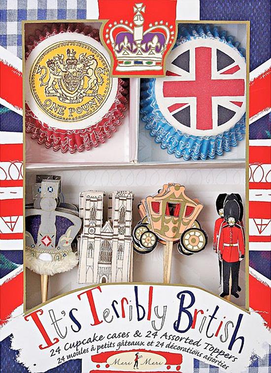 Royal Jubilee Cupcake Kit