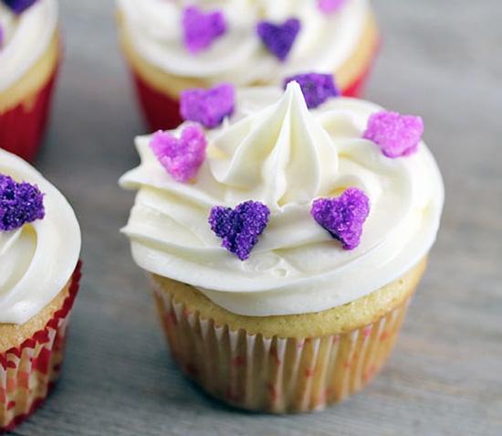 Sugar Hearts Cupcake Decoration