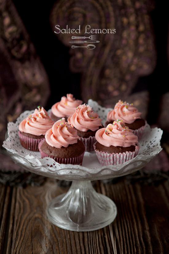 Chocolate & Cinnamon Cupcakes