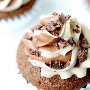 mudslide cupcakes, baking, recipes