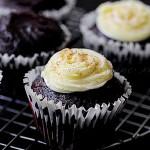 Vegan Chocolate Avocado Cupcakes, cupcakes, recipe, vegan, chocolate, cupcake blog