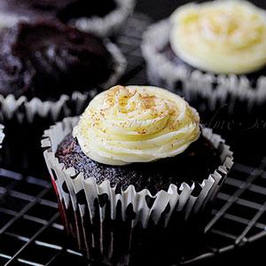 Cupcakes veganos de chocolate y aguacate, cupcakes, receta, vegana, chocolate, blog de cupcakes