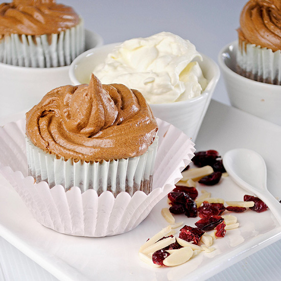 Chocolate Rice Cupcakes - Gluten Free
