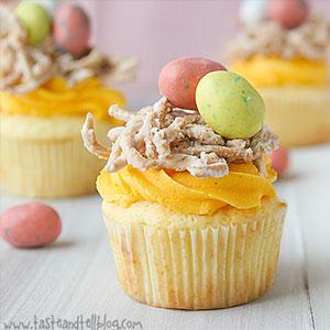 Birds Nest Cupcake Recipe