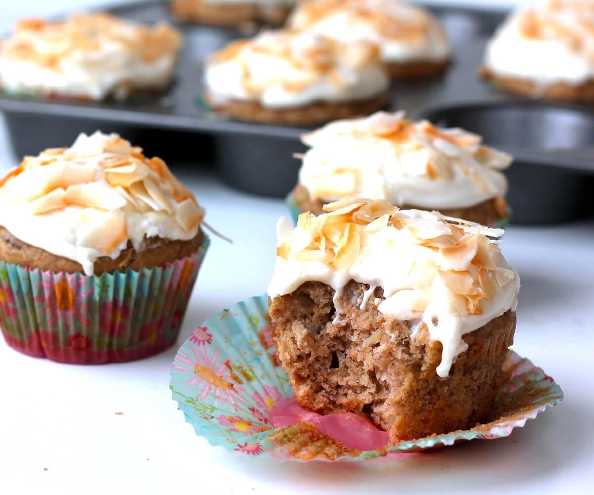 Skinny Hummingbird Cupcakes