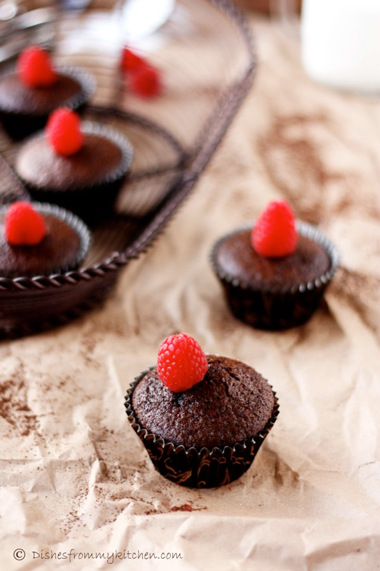 Best Ever Eggless Chocolate Cupcake Recipe