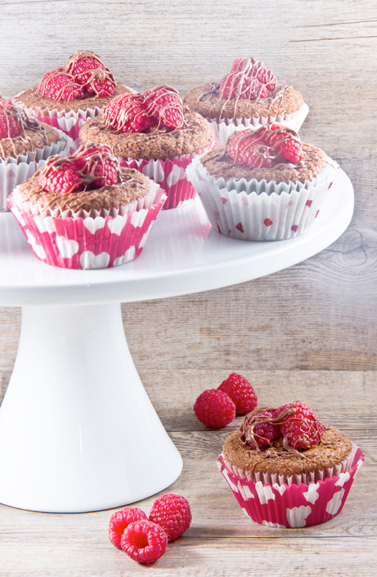Chocolate-covered Raspberry Stuffed Cupcakes, baking, recipes, blog, daily