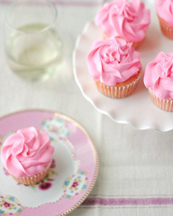 Strawberry Moscato Cupcakes Recipe