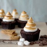 biscoff, s'mores, smores, cupcakes, recipe
