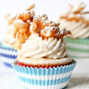 Funnel Cake Cupcakes