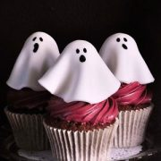 Haunted Black Forest Cupcakes