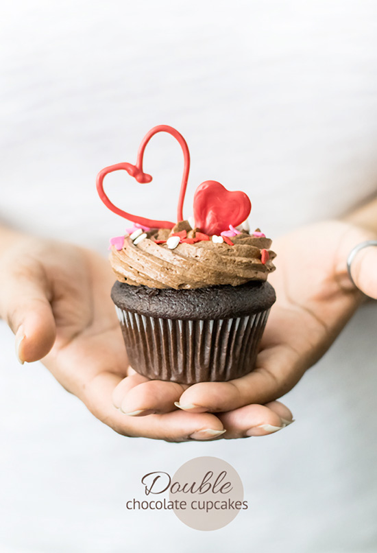 Double Chocolate Cupcakes Recipe