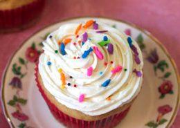 Receta de cupcakes veganos de vainilla