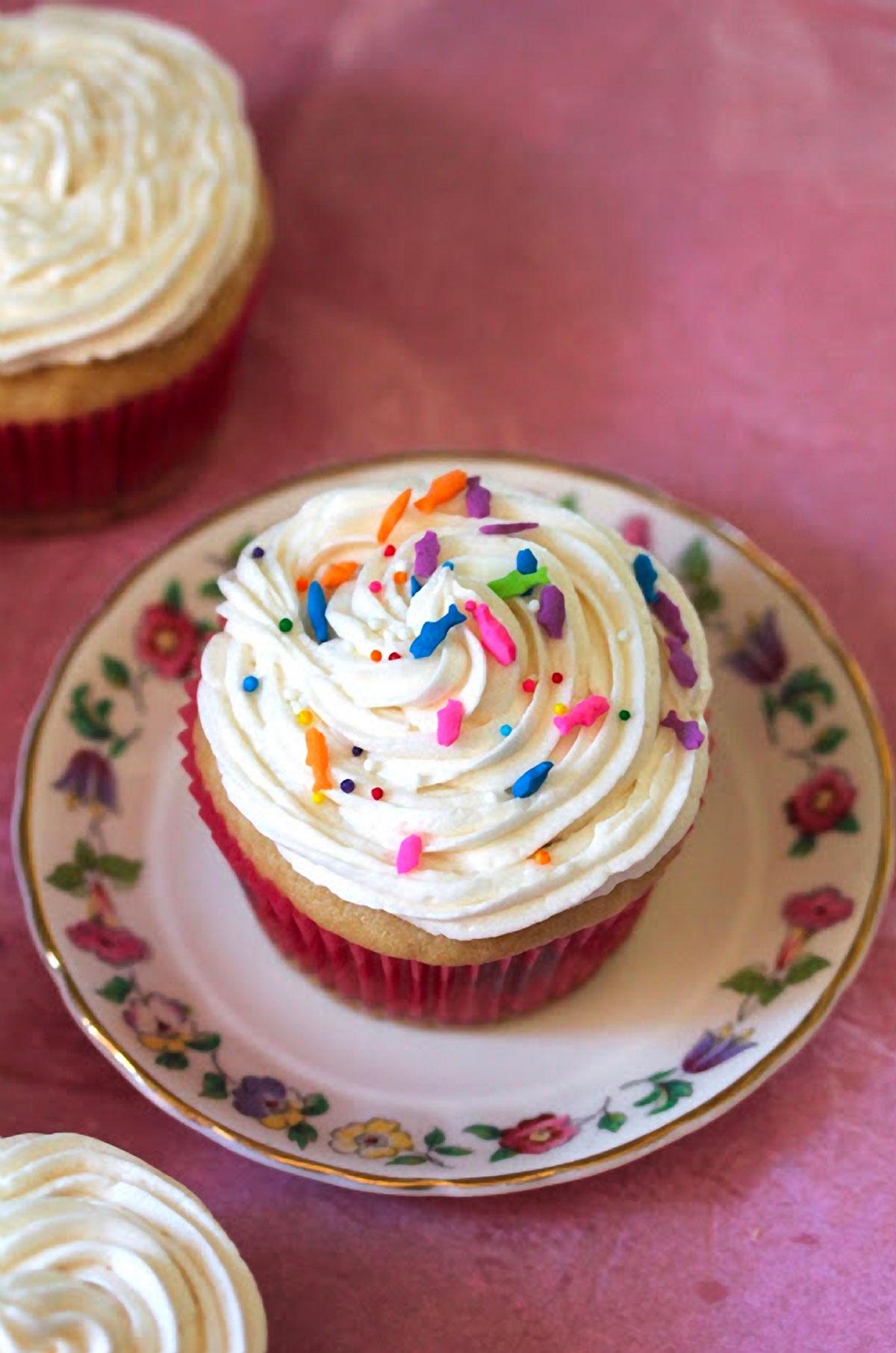 Vanilla Vegan Cupcakes Recipe