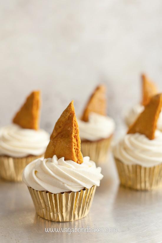 Cinder Toffee Cupcakes Recipe