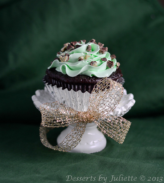 Andes-Mint-Cupcakes