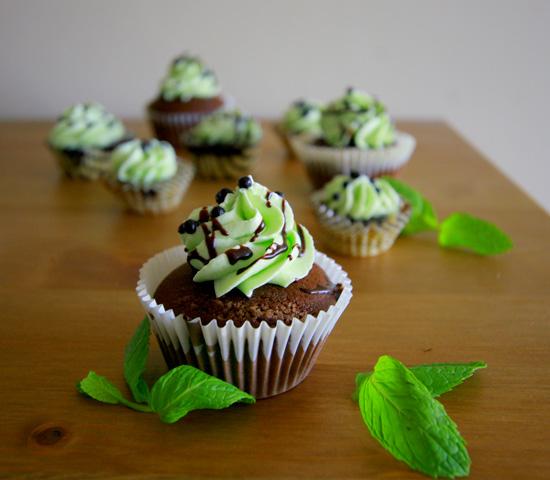 Mint-Chocolate-Cupcakes-Recipe