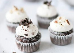 Hazelnut Chocolate Cupcakes