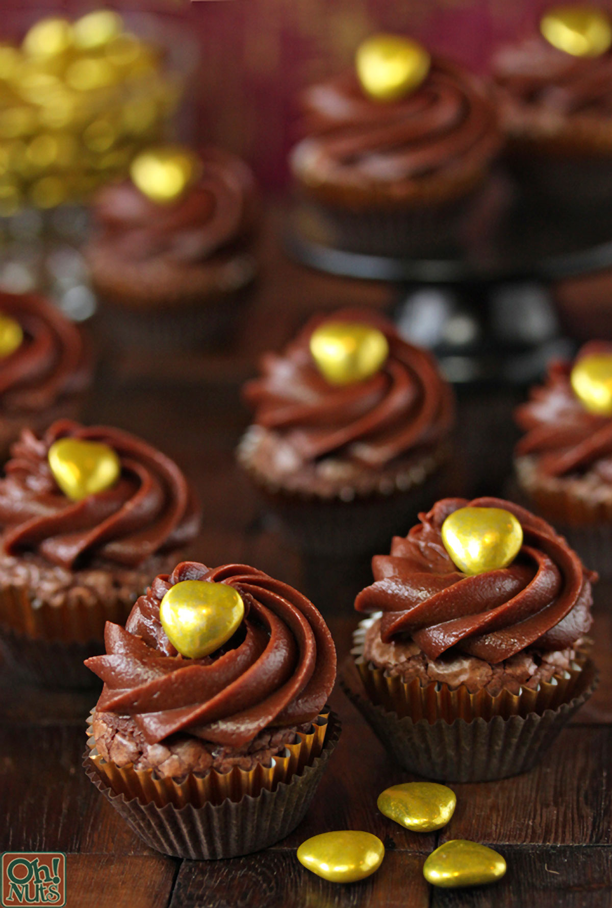 Easy Nutella Cupcakes
