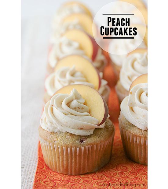 Peach Cupcakes recipe