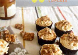 Peanut Brittle Cupcakes