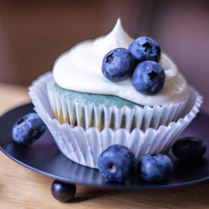 blueberry, cream cheese, cupcake, baking, recipes
