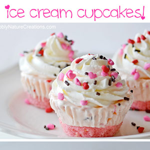ice cream cupcakes, easy cupcake recipe, daily, blog