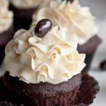 Dark Chocolate Mocha Cupcakes