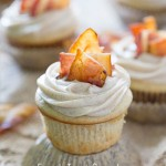 French Toast Cupcakes, Maple Frosting, Bacon, cinnamon, recipe, baking, blog, daily