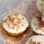 Intensely Caramel Gourmet Cupcakes, recipe, baking