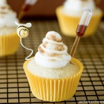 Camomile Honey Cupcakes, recipe, baking