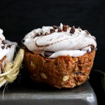 Carrot Cake Cupcakes with Coconut Cream
