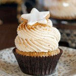 Hazelnut Cinnamon, Cupcakes, Cinnamon Mascarpone, Frosting, recipe, baking