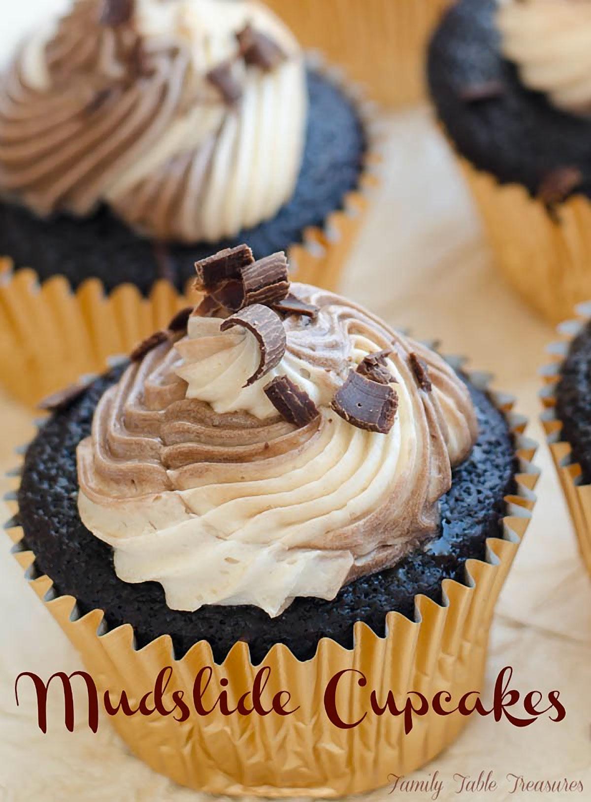Mudslide Cupcakes Recipe