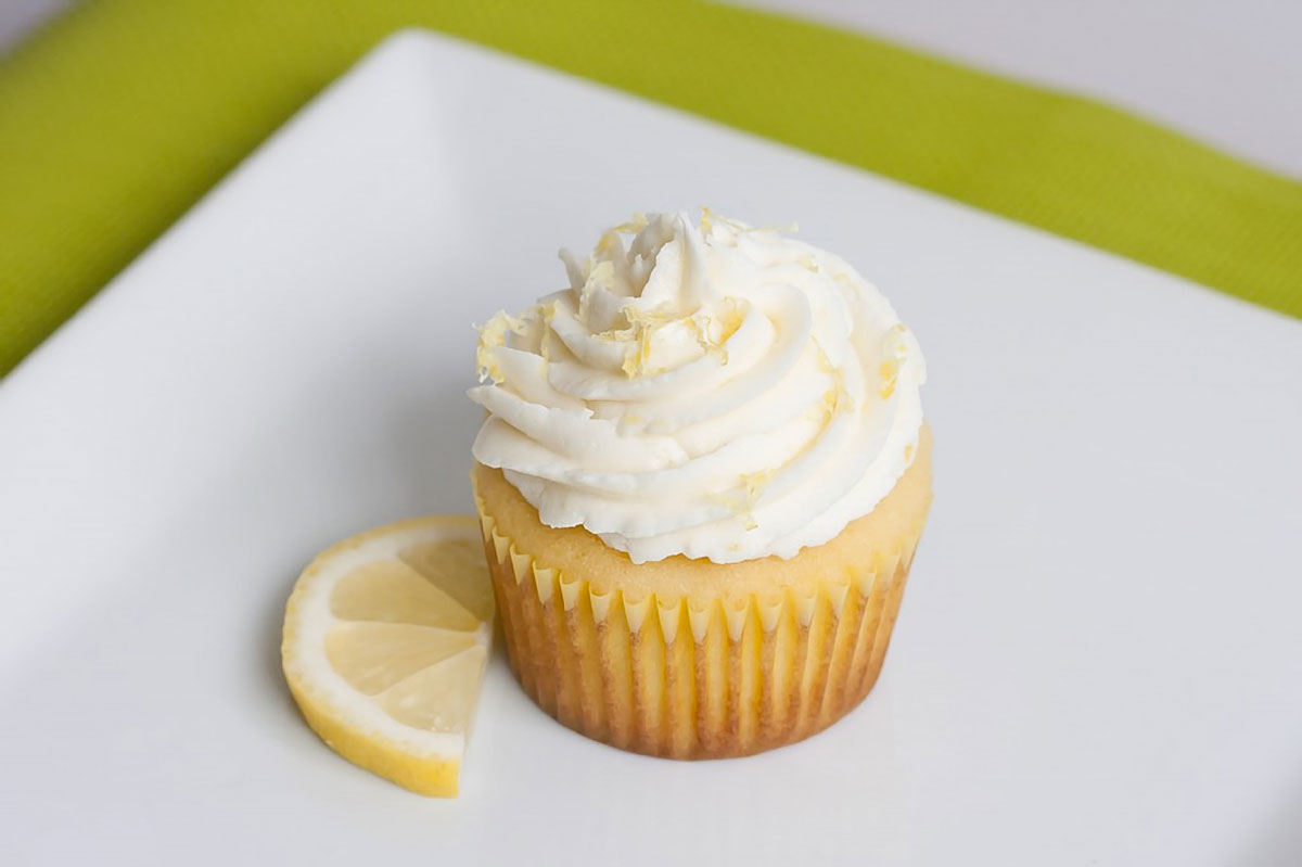 The Best Lemon Cupcakes
