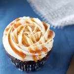 chocolate, cupcake, classic, salted caramel, frosting, sauce, buttercream, recipe, baking, dessert, food