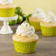 Key Lime Baby Cakes