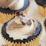 mudslide, chocolate, cupcake, buttercream, kahula, baileys, recipe, baking, food, dessert