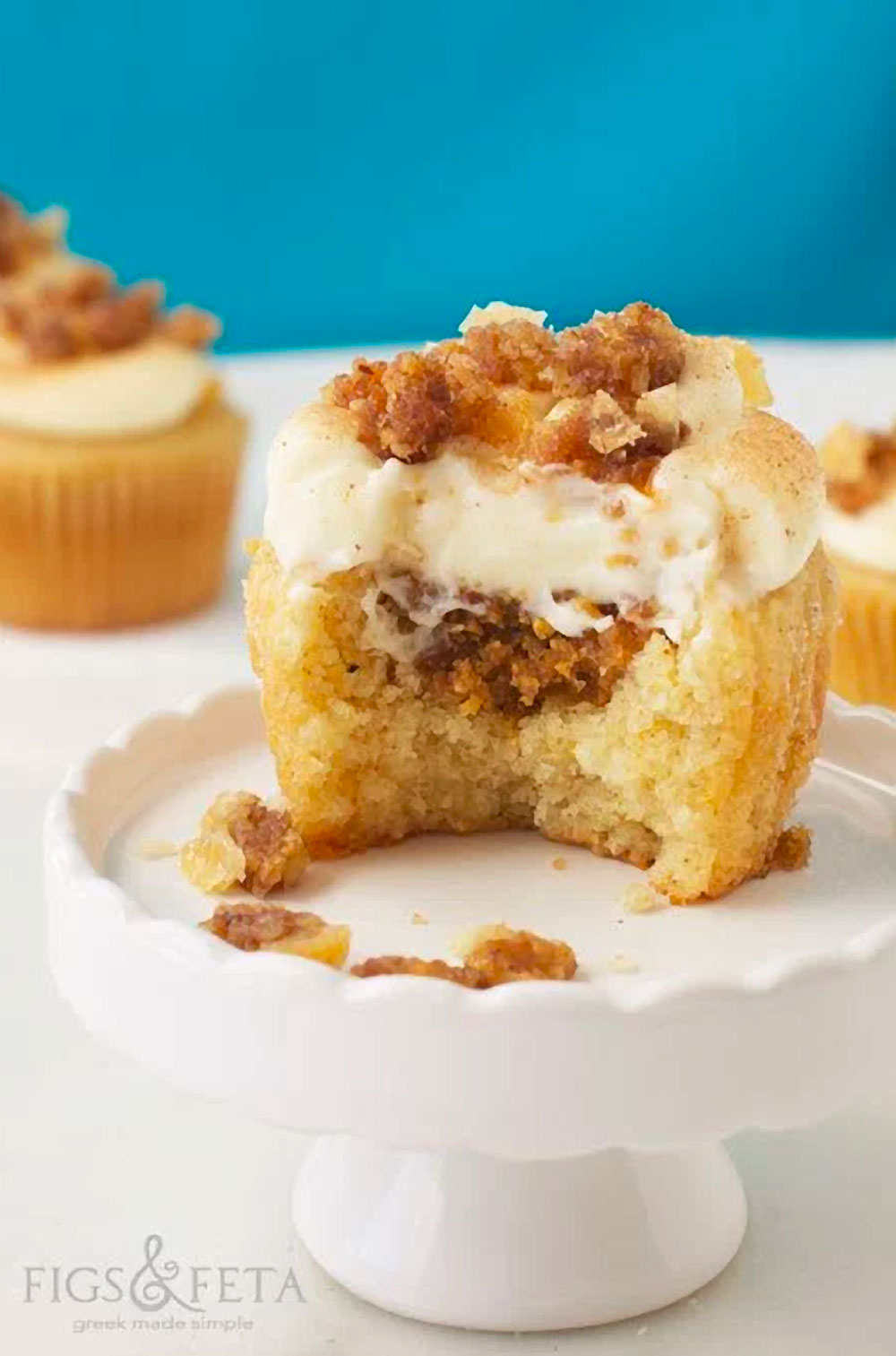 Baklava Cupcakes Recipe