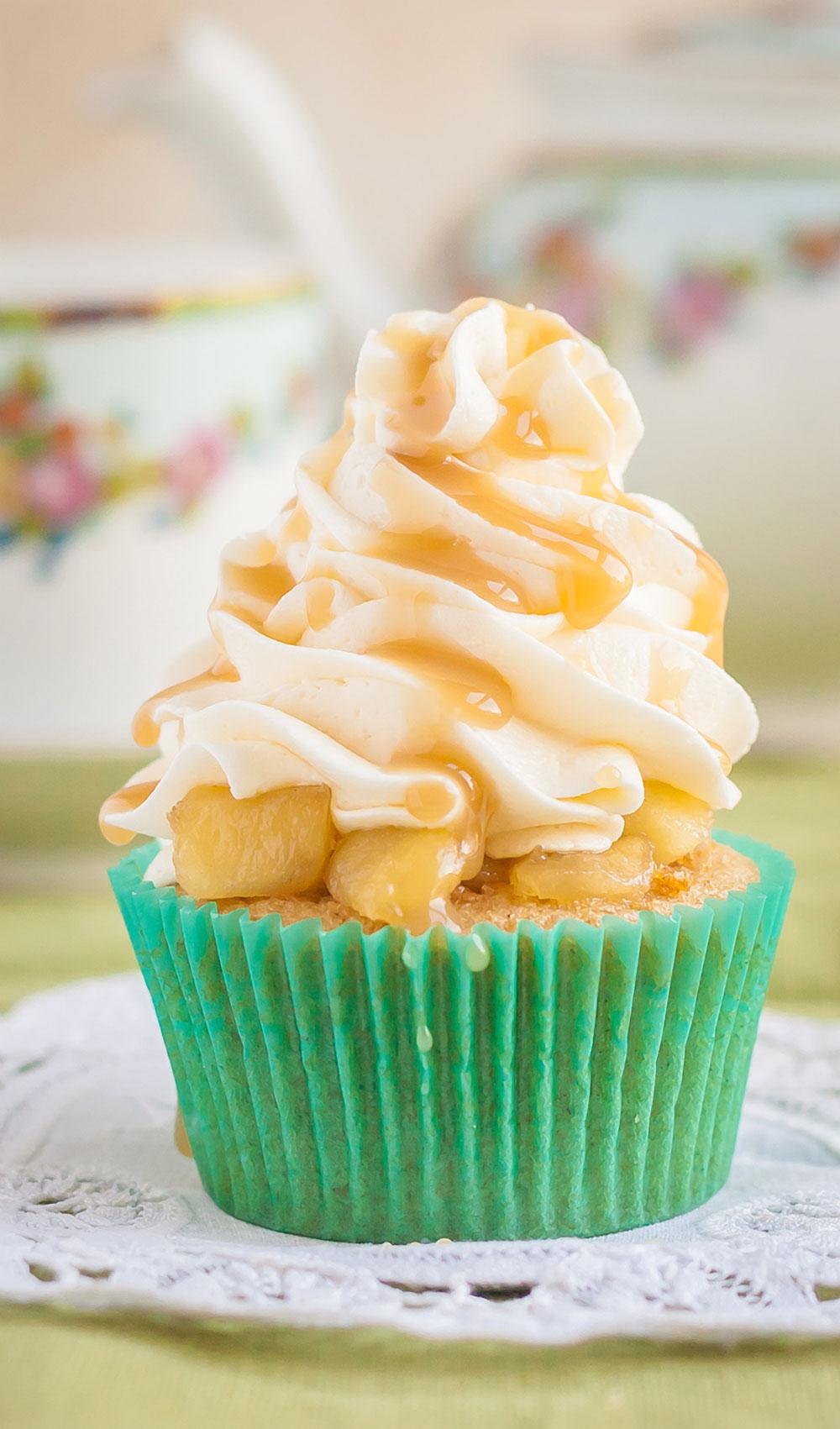 Gluten Free Apple Pie Cupcakes